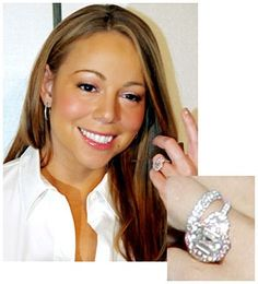 mariah carey wedding ring - Mariah Carey Wedding Ring
