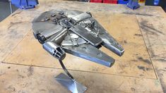 My scrap metal Millennium Falcon