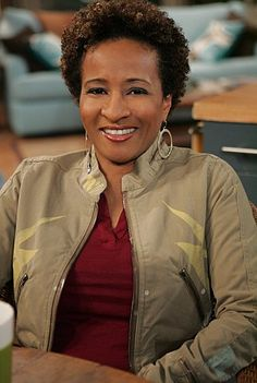 """Wanda Sykes as Barbara """"Barb"""" Baran in The New Adventures of Old Christine. Funny, funny lady."""