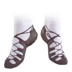 Antonio Pacelli Irish Dance Gazelle Pumps Reel Soft Shoes