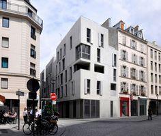 Social Housing / Frédéric Schlachet Architecte