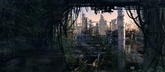 Abandoned Factories by Alex Huang | Matte Painting | 2D | CGSociety