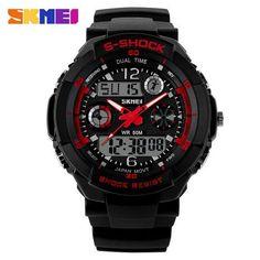A, SKMEI 0931 Multi Function Digital Alarm Waterproof Men Sport Watch: Bid: 17,75€ (£15.07) Buynow Price 17,75€ (£15.07) Remaining 09 days…