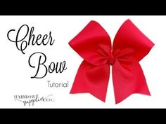 How to Make a Cheer Bow – Hairbow Supplies, Etc.