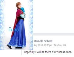 http://www.bostoncomiccon.com/index.html This is what a Boston Comic Con 2014 fan is saying they will be for the Costume Contest! #BostonComicCon #princessanna #frozen #disney #costumecontest #Boston