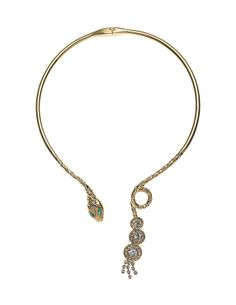 THE ORIENT EXPRESS COLLECTION / Serpent Swarovski crystal snake choker. Fall/Winter Collection