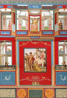 """Il primo stile pompeiano è la definizione con cui si rappresenta uno dei quattro """"stili"""" della pittura di epoca romana. Collocabile a partire dal 150 a.C."""