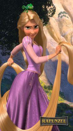 Day 2: Favorite Disney Princess - Rapunzel