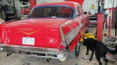 57 chevy full video Collision Repair, Auto Body Repair, Repair Shop, The Body Shop, Cool Cars, Chevy