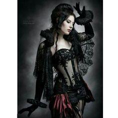 Brune ... version gothique ... #Pin
