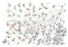 "Puzzle ""Windsurf"". #formiche #puzzle #sport #windsurf #lake #lago #Garda #freetime"