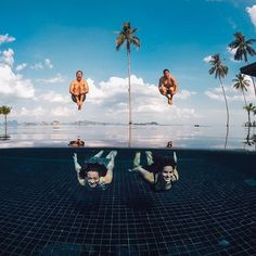 Photo of the Day! Stop what you're doing and listen. CANNONBALL! Team shot via @hopscotchtheglobe. #GoPro #GoProGirl