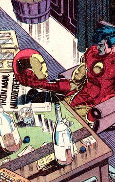 Iron Man 128 (Nov. 1979). Art by John Romita Jr. (pencils), Bob Layton (inks) & Bob Sharen (colors)