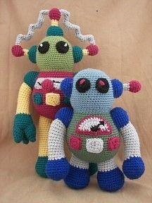 Rockin Robots Crochet Amigurumi Robot Pattern