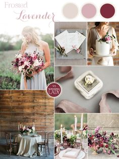 Frosted Lavender - Winter Purple and Berry Wedding Inspiration