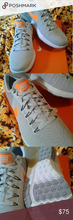Nike Zoom Training Kicks....size 11 men NWB New unused X-trainers size 11 retails for $85 and thats only $15 off the sticker price...buy now and get a quality pair of sneakers for a lot less Shoes Athletic Shoes