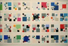Global Colour Codes installation view | Sara Hughes