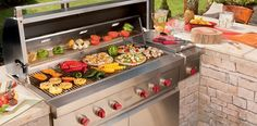 "The Wolf 54"" outdoor grill and its combined 130,000 Btus of sheer power is available for built-in applications for the ultimate outdoor kitchen. Two types of heat (direct and radiant) produce the ideal cooking environment for flawless grilling."