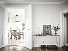 Tour a Feminine Home in Shades of Gray via @MyDomaine