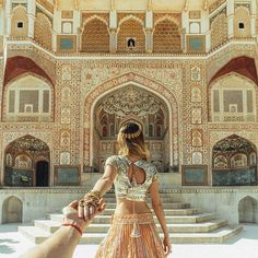 Follow me to Amer Fort, Jaipur, India