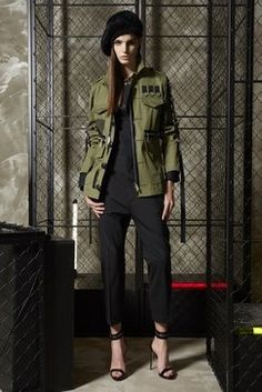 047a662285e8 DSQUARED2 Resort 2019 Fashion Show Military Inspired Fashion, Military  Fashion, Military Style, Fashion