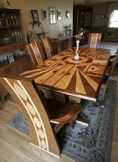 What do you think–beautiful or busy.. Either way, it is masterful work.. .. More Amazing #Woodworking Projects, Tips & Techniques at ►►► http://www.woodworkerz.com