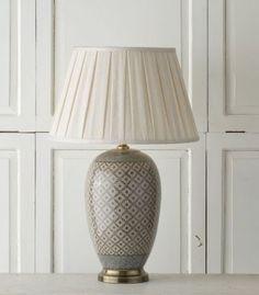 Lampa stołowa Shiho ceramiczna 71cm