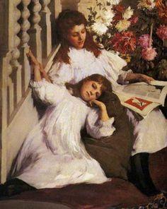 PINTORES Y PINTURAS - JUAN CARLOS BOVERI: ELIZABETH FORBES pintores y pinturas - juan carlos boveri487 × 611Buscar por imagen historias de hadas