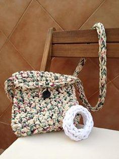 lovely people :) Hecho con amor y con nuestros materiales, por Maria Teresa  #diy #handmade #crochet #ganchillo #knit #crochetxl #knitted #sacocharte #trapillo