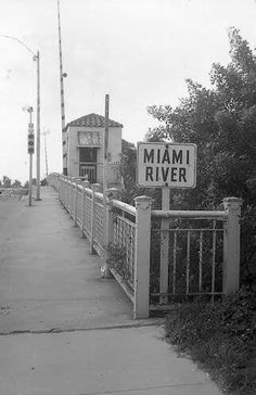 Growing up in Little Havana| Miami River Bridge at 22 Avenue 1967 (The Miami River is the northern and eastern border of Little Havana)...