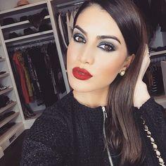 """""""❤️❤️❤️ #camilacoelho #supervaidosa #sv #vs #red #lipstick #redlips #vermelho#batom #eudora #fotorial #blog #love @camilacoelho"""""""