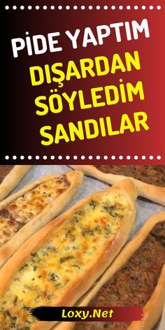 Lunch Recipes, Easy Dinner Recipes, Healthy Recipes, Yummy Snacks, Yummy Food, Turkish Recipes, Ethnic Recipes, Dinner Rolls, Food Presentation