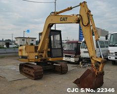 Used Caterpillar Excavator E70B for sale  Extras: 31409 HOURS, Hydraulic  Condition: Average Price: On Inquiry  Contact or Visit: Email : info@CarJunction.com Phone : +8190 9685 6566  www.carjunction.com #caterpillar #excavator #usedmachinery