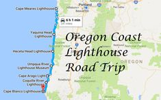 This Lighthouse Road Trip On The Oregon Coast Is Dreamily Beautiful #oregon #oregoncoast #lighthouse