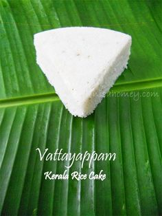 Vattayappam / Steamed Rice Cake / Kerala Style | Cooking Is Easy
