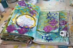 Donna Downey: Layers of stencils!