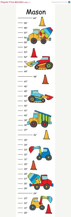 ON SALE Personalized Construction Zone by CamieTurnerDesigns, $18.90