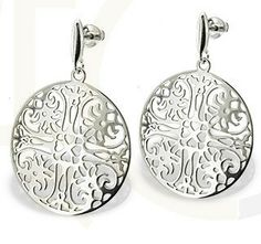 Srebrne kolczyki / Earrings made from silver / 113 PLN #silver #jewelry #jewellery #earrings #kolczyki #srebro #bizuteria