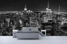 Panoramic New York Wallpaper Wall Mural | MuralsWallpaper.co.uk