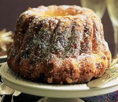 Corona de bizcocho #recipes #cuisine