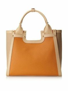 Charles Jourdan Blake Colorblock Tote Bag   360 NEW  160 Fashion Sale e02335845bc36