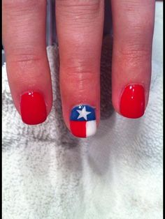 Shellac.     Texas manicure.        Nails by Missy
