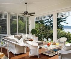 Beautiful wide verandahs make me want summer to never end!