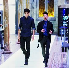 """Find me an OTP better than these two. Oh wait there isn't  #Shadowhunters #Malec"""
