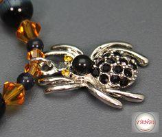 Armband Spinne von TANBI-accessories:  Schmuckstücke für Kids und Erwachsene auf DaWanda.com