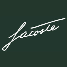 Elegant design. Authentic style. René Lacoste.