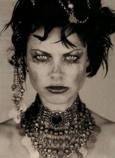 Bonne | Marc Lagrange, a fine art photographer  - This stuck me as Rosella. Though, of course, I do not expect Jarom to look like this. I just loved this model's fierce and exotic look.