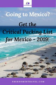 Are Going To An All-Inclusive Resort Vacation In The Riviera Maya, Cancun Or Tulum? After Your Long Flight, Rest Assured You've Packed Your Suitcase Well With The Perfect Products For Men, Women And Kids Mexico Vacation, Vacation Resorts, Mexico Travel, Maui Vacation, Great Vacation Spots, Great Vacations, Summer Vacations, All Inclusive Mexico, All Inclusive Resorts