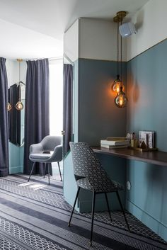 New Parisian Hotel Unveils Inspiration from New York's Art Nouveau | See more articles at http://www.delightfull.eu/en/news/