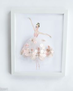 Perfect for girls room decor, baby girl art, ballerina nursery wall art. Wonderf… Perfect for girls room decor, baby girl art, ballerina nursery wall art. Wonderful gift for a little ballet dancer. Baby Nursery Diy, Baby Room Decor, Nursery Wall Art, Girl Nursery, Girl Room, Nursery Decor, Wall Art Decor, Diy Baby, Room Baby